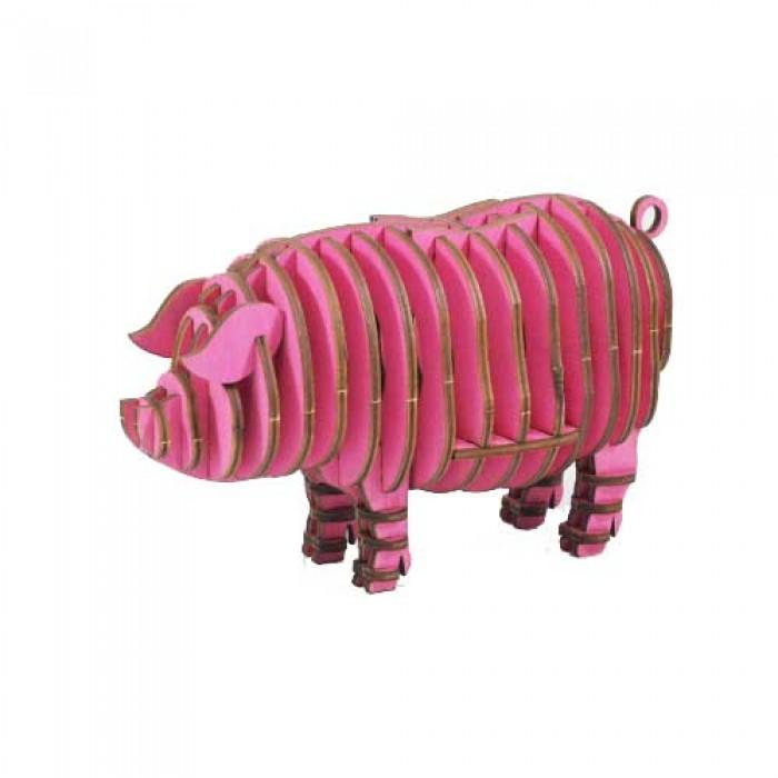 3D пазл Свинья