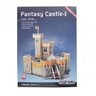 3D пазл бумажный Fantasy Castle - 1