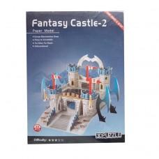 3D пазл бумажный Fantasy Castle - 2