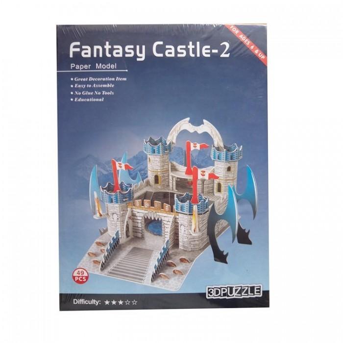 3D пазл паперовий Fantasy Castle - 2