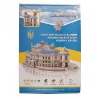 3D пазл бумажный Одесский театр оперы и балета
