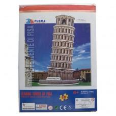 3D пазл бумажный Пизанская башня