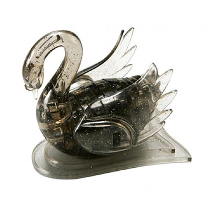 "3D пазл кристаллический ""Лебедь""  Crystal Puzzle Swan"