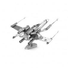 """3D пазл металлический и сувенир """"истребитель X-Wing Star Wars"""""""