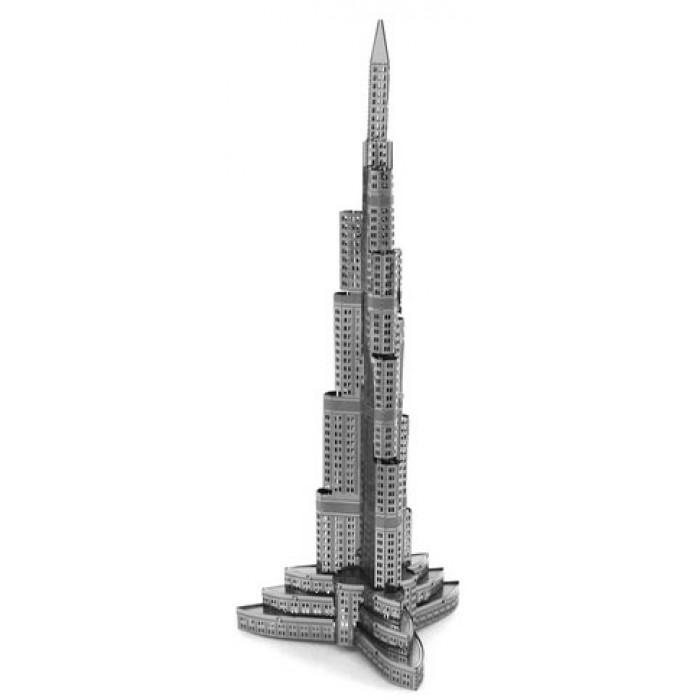 """3D пазл металлический и сувенир """"Башня Халифа"""""""