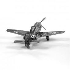 "3D металевий пазл і сувенір ""Літак Р-51 Мустанг"""