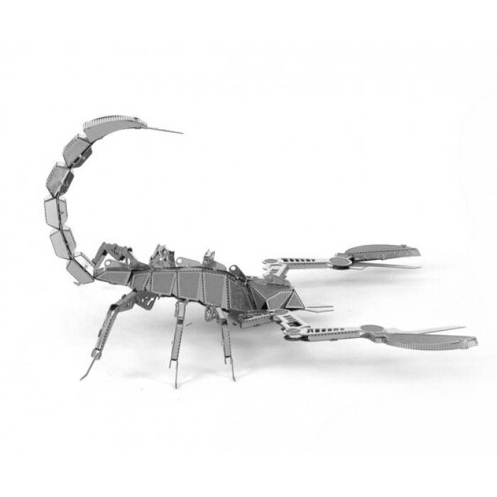 """3D пазл металлический и сувенир """"Скорпион"""""""