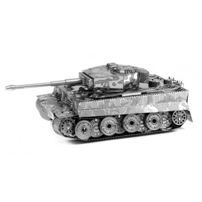 """3D металлический пазл-модель и сувенир """"Танк Tiger"""""""