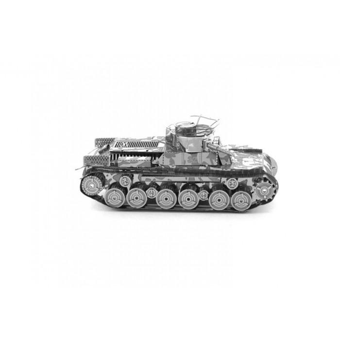 "3D металлический пазл-модель и сувенир ""Танк Type 97 Chi-Ha"""