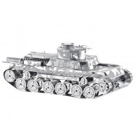 """3D металевий пазл-модель і сувенір """"Танк Type 97 Chi-Ha"""""""
