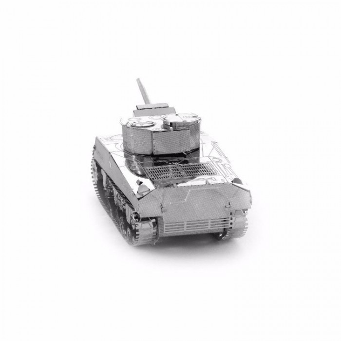 """3D металевий пазл-модель і сувенір """"Танк M4 Sherman"""""""