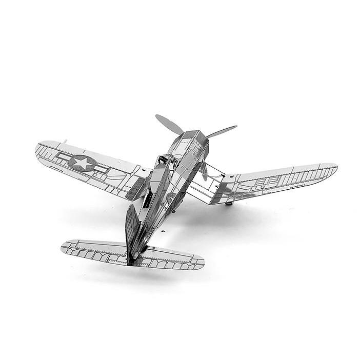 """3D металлический пазл-модель """"истребитель F4U Corsair"""""""