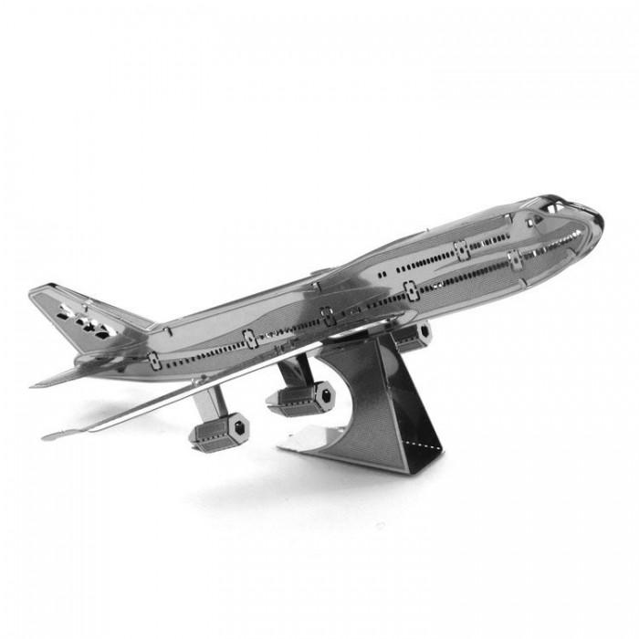 "3D металлический пазл-модель ""Boeing 747"""