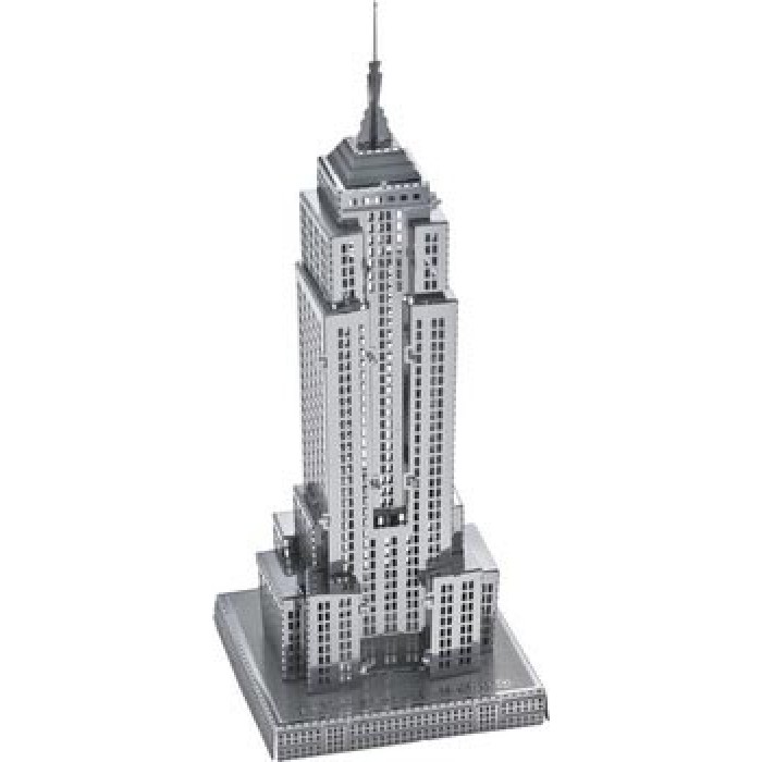"3D пазл металлический и сувенир ""Empire State Building"""