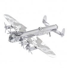 """3D металевий пазл і сувенір """"бомбардувальник Avro Lancaster"""""""
