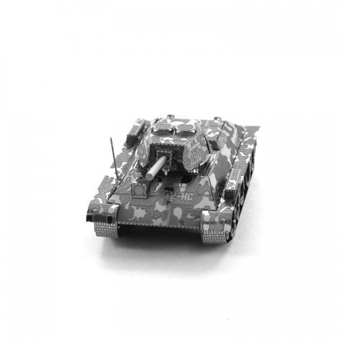 "3D металлический пазл-модель и сувенир ""Танк T-34"""