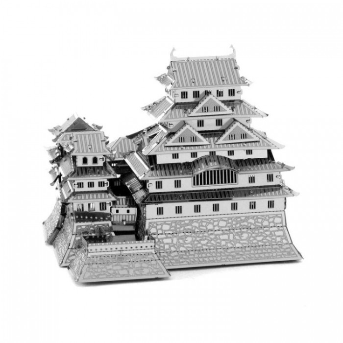 """3D пазл металлический и сувенир """"Himeji Jo Castle"""""""