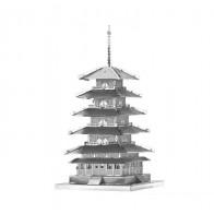 """3D металлический пазл и сувенир """"Китайская башня"""""""