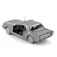 "3D пазл-модель металевий ""Mustang"""