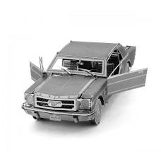 """3D пазл-модель металлический """"Mustang"""""""
