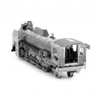 """3D пазл-модель металлический """"локомотив D51"""""""