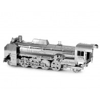 """3D пазл-модель металевий """"локомотив D51"""""""