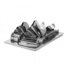 """3D металлический пазл и сувенир """"Сиднейская опера"""""""