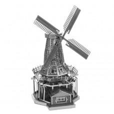 """3D металевий пазл і сувенір """"Млин"""""""