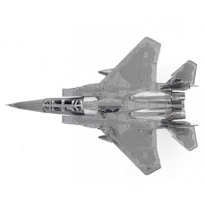 """3D пазл металлический и сувенир """"истребитель F15"""""""