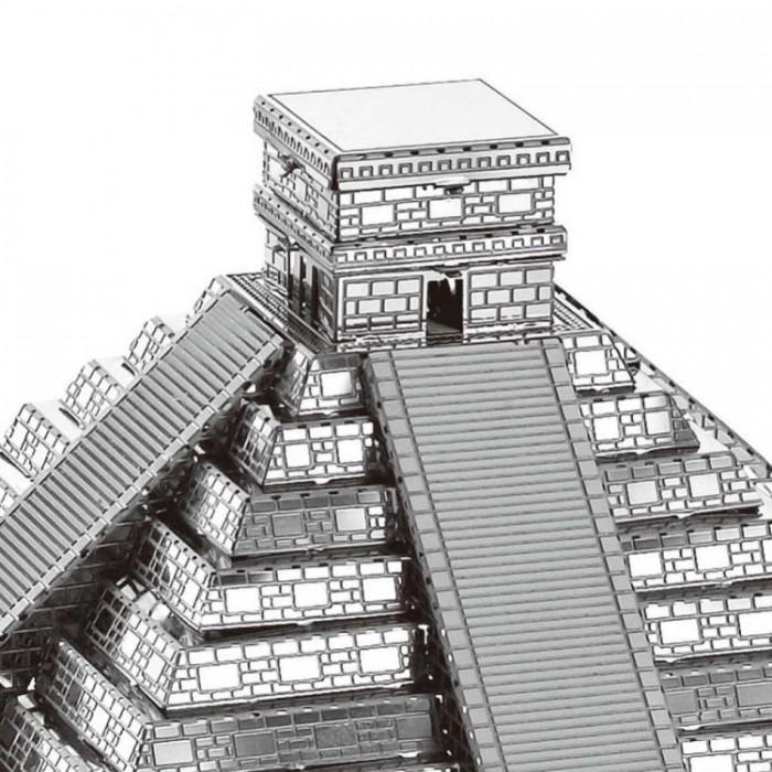"""3D металлический пазл и сувенир """"Пирамида Майя"""""""