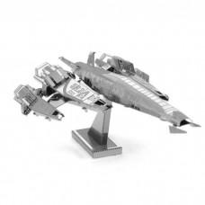 3D металевий пазл і сувенір Mass Effect SR2 Normandy