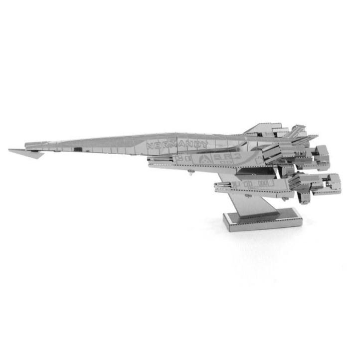 3D металлический пазл и сувенир Mass Effect SR2 Normandy