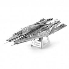 3D металевий пазл і сувенір Mass Effect Alliance Cruiser