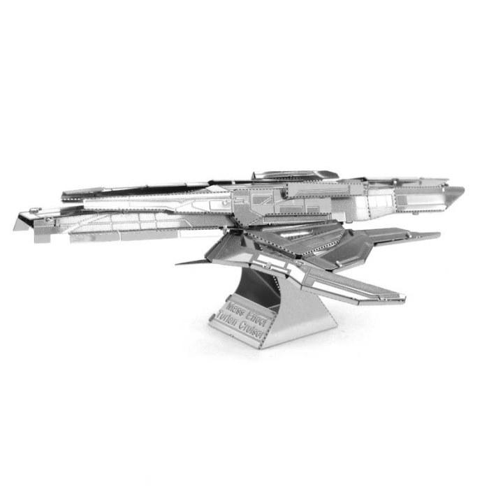 3D металевий пазл і сувенір Mass Effect Turian Cruiser