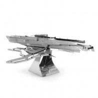 3D металлический пазл и сувенир Mass Effect Turian Cruiser
