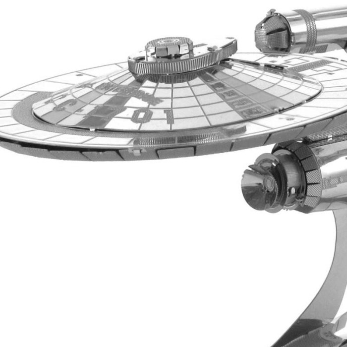 3D металлический пазл и сувенир Star Trek Enterprise NCC-1701