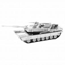 "3D металлический пазл и сувенир ""Танк M1 Abrams"""