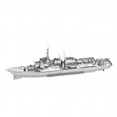 """3D металевий пазл і сувенір """"Корабель Burke Class Destroyer"""""""