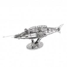 """3D металевий пазл і сувенір """"Підводний човен Nautilus"""""""