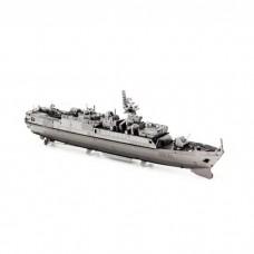 3D металевий пазл і сувенір Корабель Type 056 Corvete