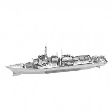 """3D металлический пазл и сувенир """"Корабль Type 056 Corvete"""""""