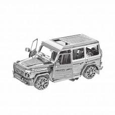 """3D металевий пазл і сувенір """"Джип BZS G500"""""""