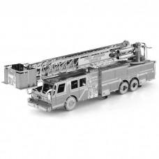3D металлический пазл и сувенир Пожарная машина (Fire Engine)