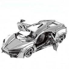3D металевий пазл і сувенір Super Sports Car