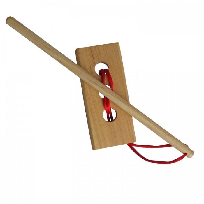 Дерев'яна головоломка Ідіот-паличка