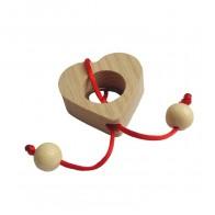 Дерев'яна головоломка Серце