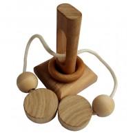 Дерев'яна головоломка Вушко голки (8069)