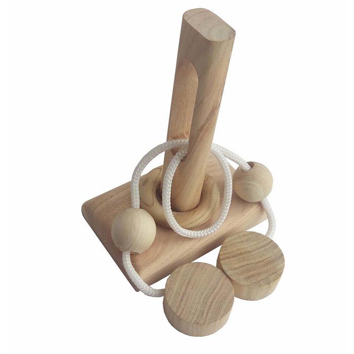 Дерев'яна головоломка Вушко голки (2249)