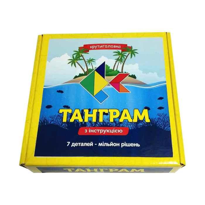 Деревянная головоломка Танграм