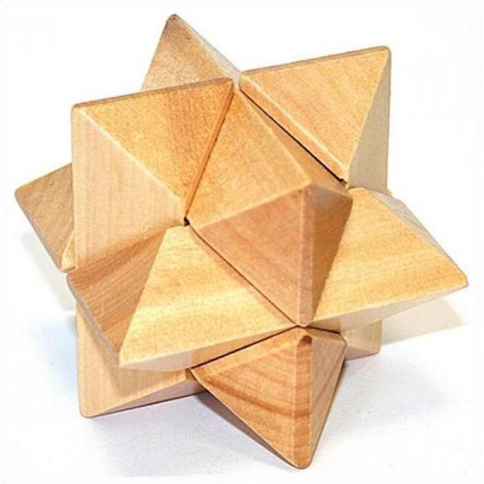 Дерев'яна головоломка Кристал
